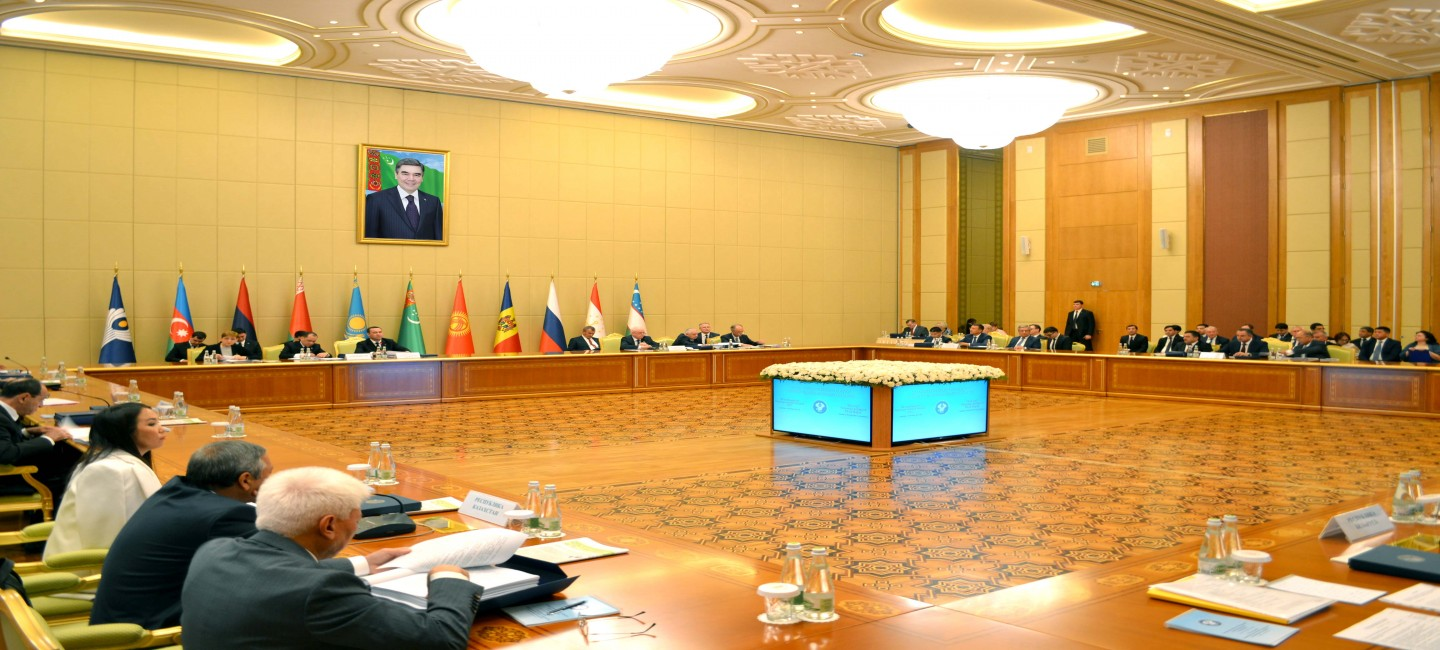 THE MEETING OF THE CIS ECONOMIC COUNCIL IN ASHGABAT