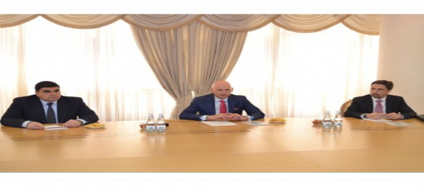 """MINISTER OF FOREIGN AFFAIRS OF TURKMENISTAN MET WITH THE CHAIRMAN OF THE INTERSTATE TELEVISION AND RADIO COMPANY """"MIR"""""""
