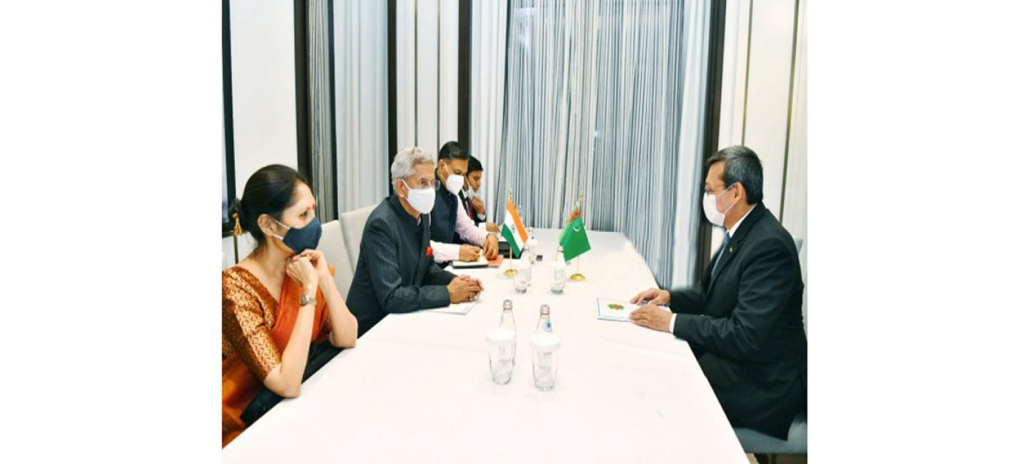 THE FOREIGN MINISTERS OF TURKMENISTAN AND INDIA CONSIDERED THE PRIORITIES OF COOPERATION DEVELOPMENT
