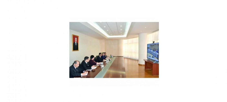«TÜRKMENISTAN – ÝEWROPA BILELEŞIGI» ADAM HUKUKLARY BOÝUNÇA DIALOGYŇ 13-NJI MEJLISI GEÇIRILDI